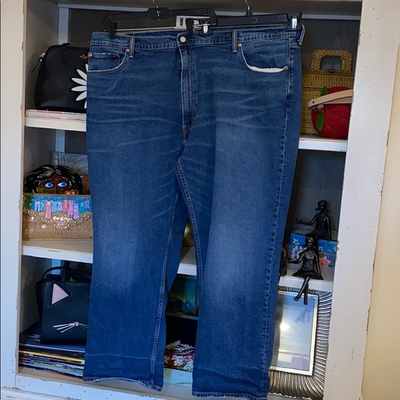 Levi's 559 blue jeans denim 52 x 32 red tag